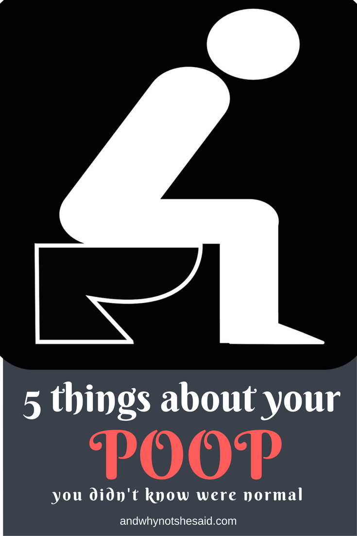 5 things about your poop